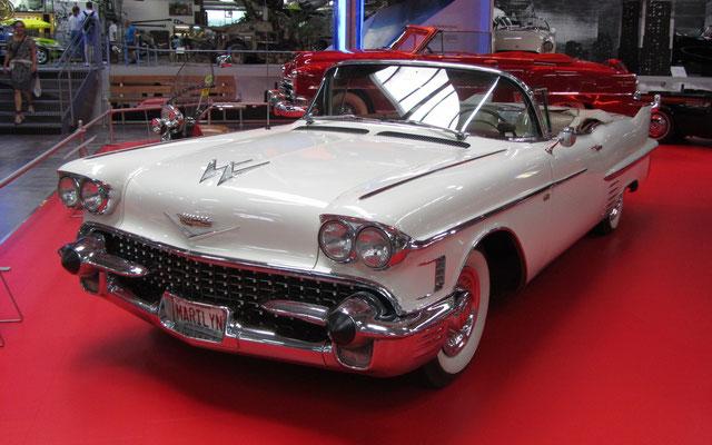 Cadillac Eldorado uit 1958. (Technik Museum Sinsheim)