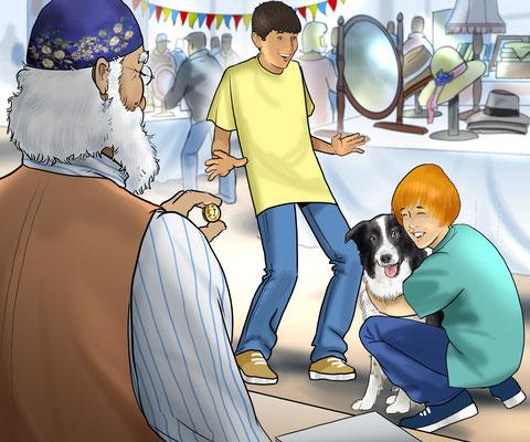 Illustration am Markt 04