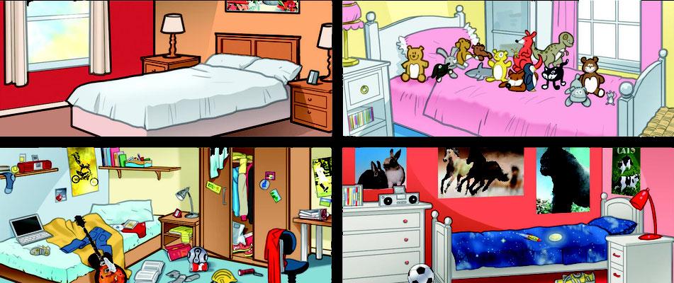 Illustration Kinderzimmer 04