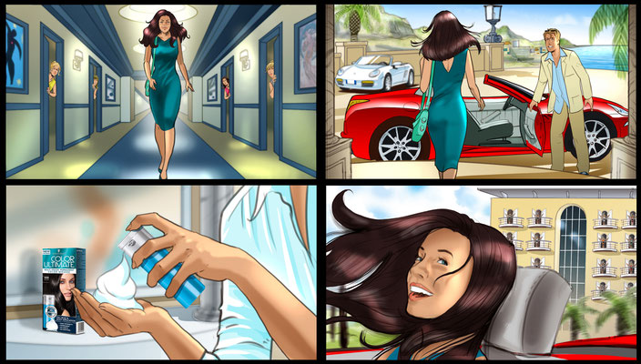 Color Ultimate Storyboard