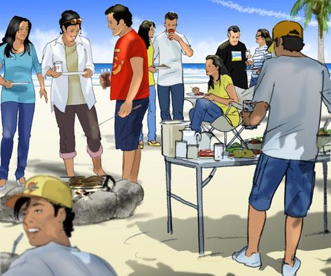 Illustration Quinceañera 03