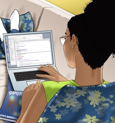 Illustration Laptop
