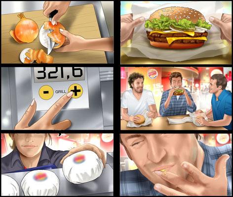 Burger Storyboard