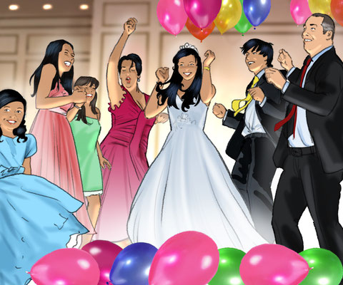 Illustration Quinceañera 04