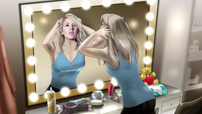 Ellie Goulding Storyboard