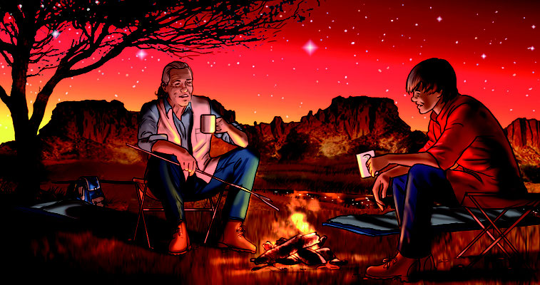 Illustration Australian adventure 03