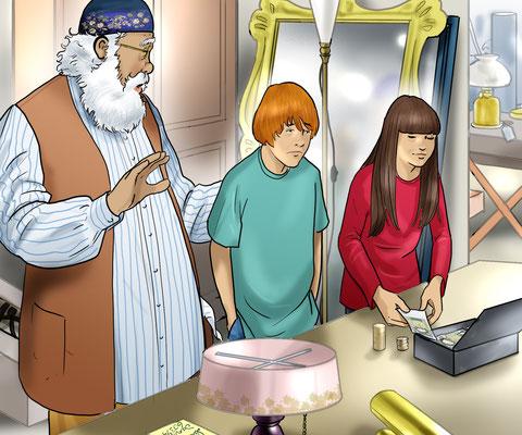 Illustration am Markt 02