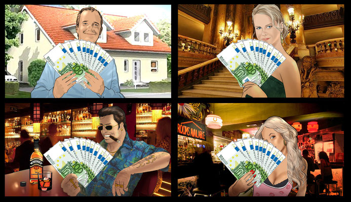Bank Storyboard