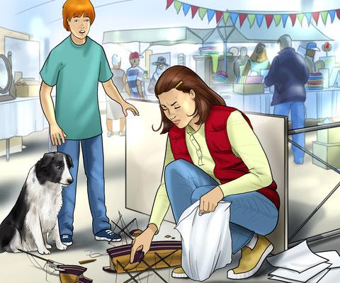 Illustration am Markt 03
