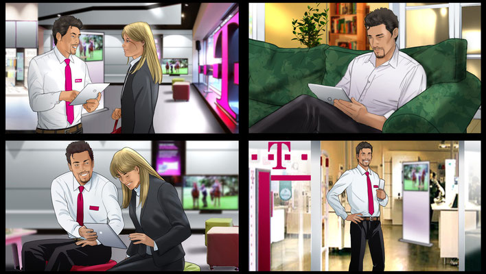 Telekom Storyboard