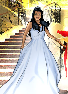 Illustration Quinceañera 06