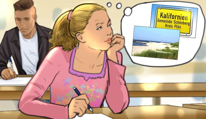 Illustration Tagtraüme