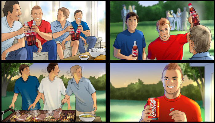 Coca Cola Storyboard