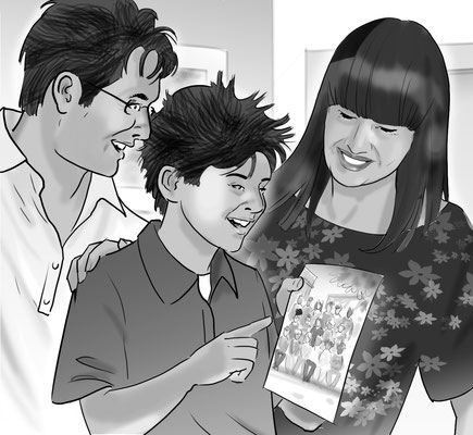 Illustration Famile