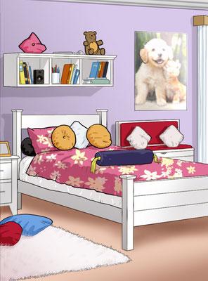 Illustration Kinderzimmer 02