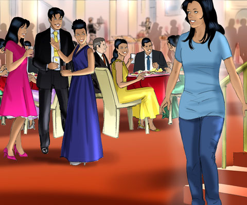 Illustration Quinceañera 05