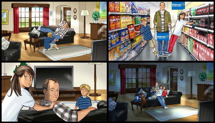 Walmart Animatic