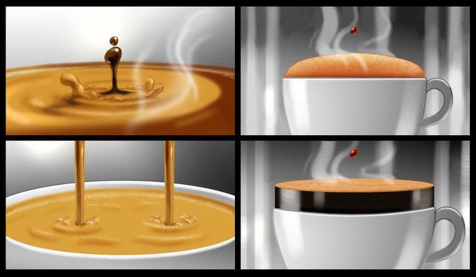 Kaffee Storyboard