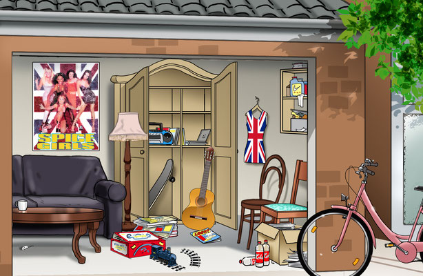 Illustration Garage