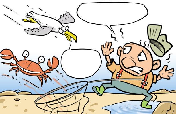 Cartoon Angler 02