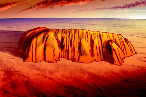 Illustration australisches Abenteuer 04