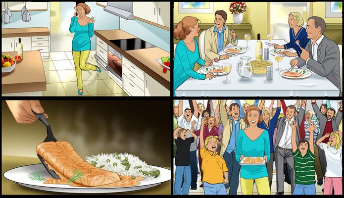 Food Storyboard