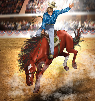 Illustration_Teen adventure_Rodeo