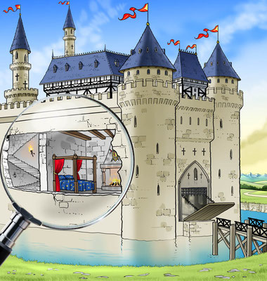 Illustration castle