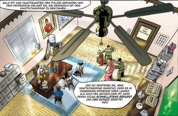 Comic Zeichnung_Der Schatz von Aschkor
