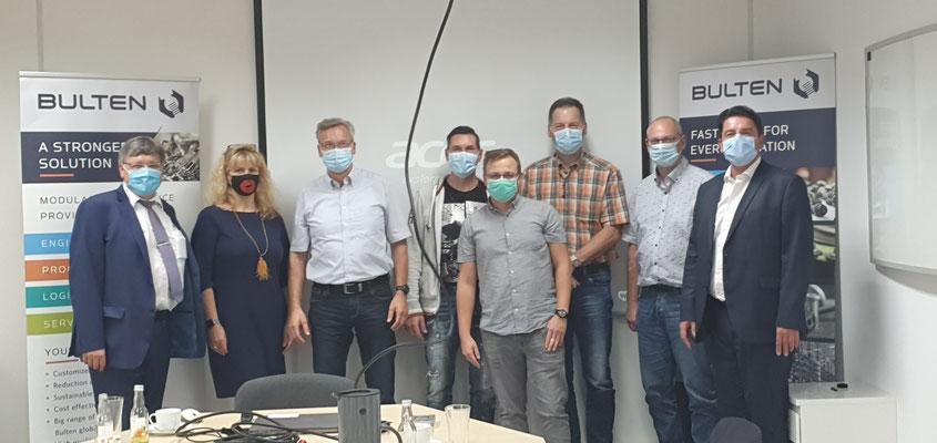 Inhouse-Seminar Bulten (Bergkamen 2020)