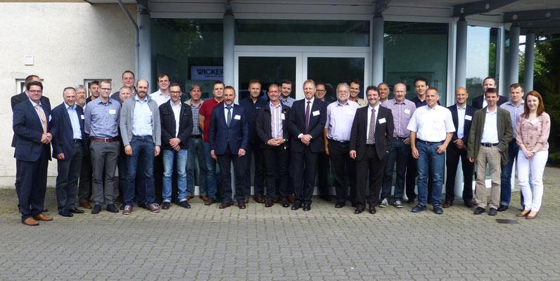 Fachseminar Fixturhärten bei Wickert Maschinenbau (Landau 2015)