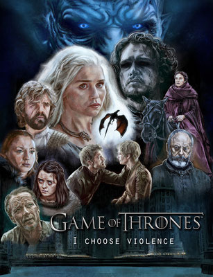 Game Of Thrones - Season 6 Poster Art