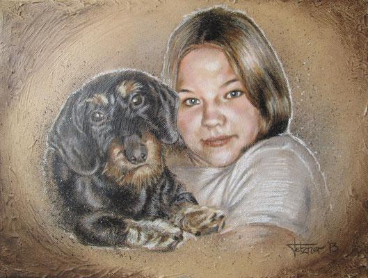 Portrait 'Erna & Tina'
