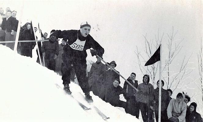 Slalom oder Torlauf, wie es damals hieß