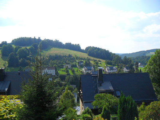 Das Oberdorf von der Weißbacher Straße