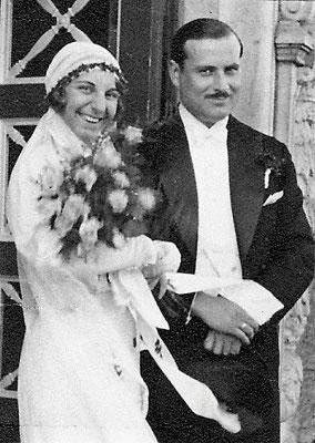 Dora Pfau heiratet 1932 Herrn Wegehenkel