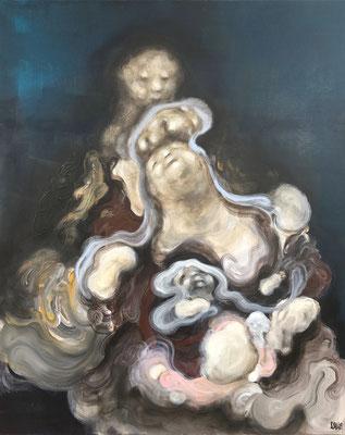 En souvenir du père - 162 x 130 cm