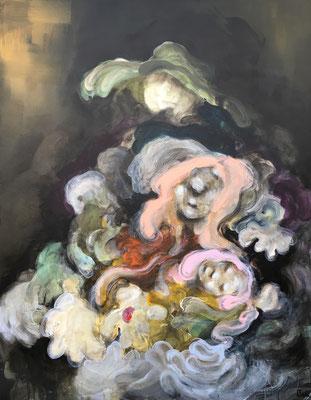 La fée Carabosse  - 145 x 116 cm