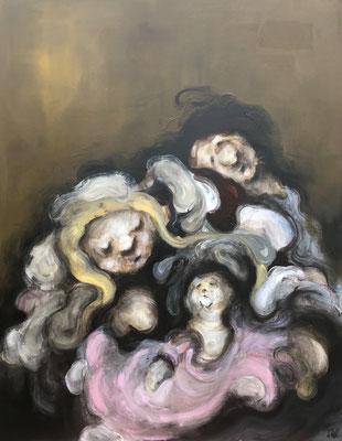 Le petit d'homme - 145 x 116 cm