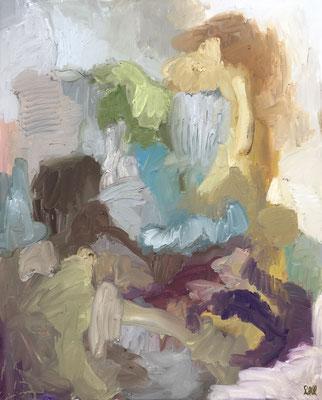 """""""Paysage Bourguignon"""" - 100 x 81 cm"""