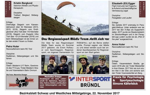 Bezirksblatt Schwaz und Westliches Mittelgebirge KW 47