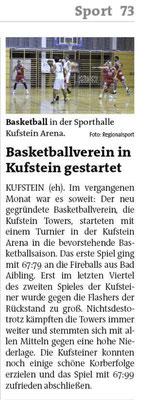 Bezirksblatt Kufstein 11. Oktober 2017
