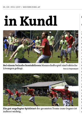 Bezirksblatt Kufstein 19.07.2017