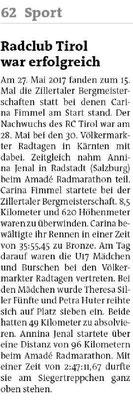 Bezirksblätter Schwaz