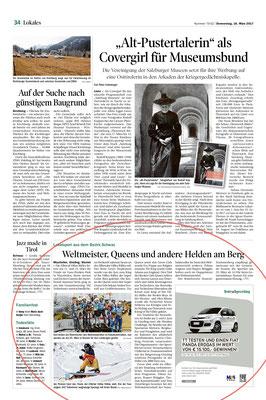 Tiroler Tageszeitung 16. März 2017
