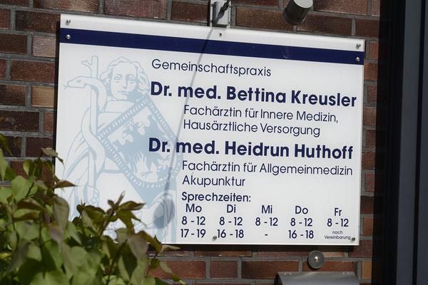 In Ihrer Nähe: Hausarztpraxis Dr. Kreusler und Dr. Huthoff, Bremen-Walle