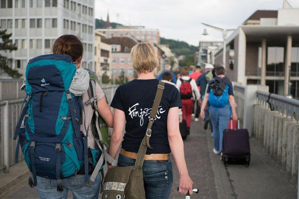 Fanjazztics Anreise von Lübeck nach Freiburg