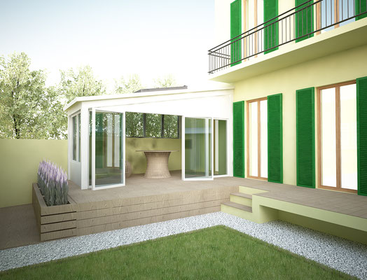Giardino D Inverno Toscana : Progetto giardino d inverno appartamento a firenze