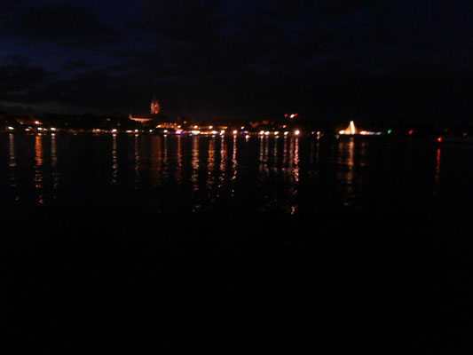 Radolfzell am Abend des Hausherrenfestes