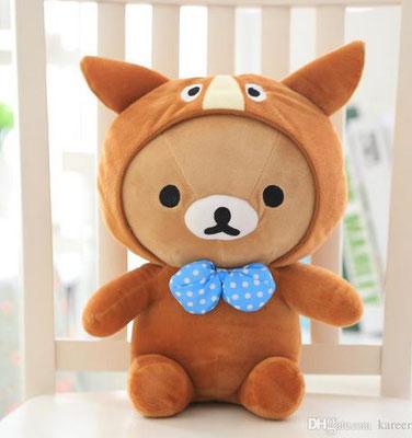 TEDDYchi - Chihuahua Hundespielzeug für kleine Hunde 12 cm Kuscheltier Teddybaer Teddy Bear